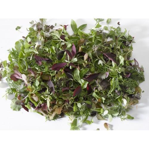 Mezclum de hojas 60 grs.