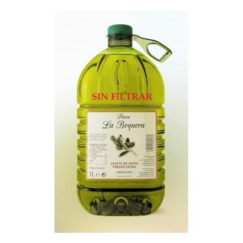 Aceite de Oliva Virgen Extra 3 L. sin filtrar