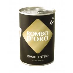 Tomate entero pelado rombo d´oro 390 gr.