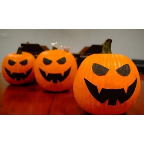 Calabaza halloween grande