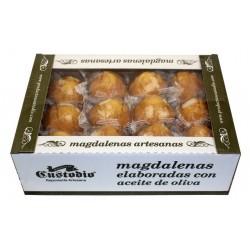 Magdalenas Artesanas con aceite de oliva