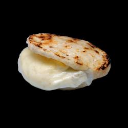 Arepas blancas con queso...