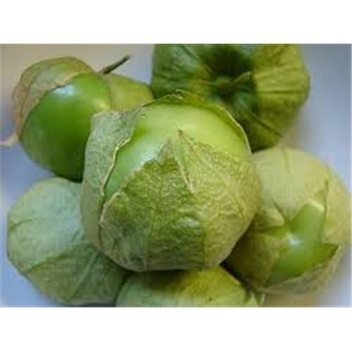 Chiles tomates verdes