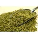 Soja verde seca