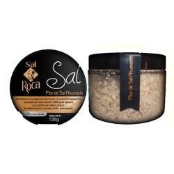 Sal flor de sal ahumada