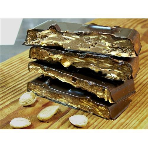 Turron chocolate con milhojas